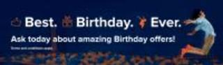 50% off Birthday party pkg certificate Donor