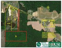 13.35 +/- Acres - 4300 block of Hopkins Road, Middlesex, NC 27557 - with wooded acres (timber harvested) & 60' highway frontage. Unsurpassed Privacy