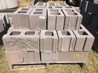 One pallet landscaping cement block