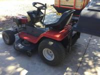 "MTD Riding Mower 14.5 OHV, I/C Quiet, 40"" cut with bagger attachment and tube complete"