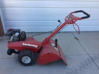Yard Machines by MTD tiller, counter rotating tines