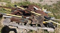 Miscellaneous shovel and handle parts