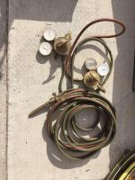 Acetylene gauges and hose
