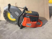 Husqvarna X-TORQ K760 cement Saw with almost new blade