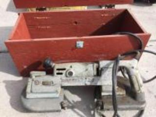 Ports-Band 2 speed portable band saw in box