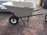 Bentwood 10 cube plastic wheel barrow (small hole) with two tires