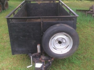 Single Axle Trailer with Sides