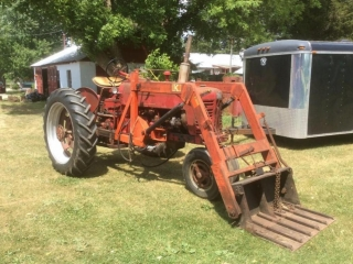 Farmall 300 Tractor with Front Loader