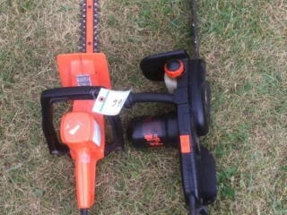 Electric Hedge Trimmer, Electric Chainsaw