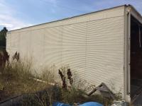 Conex box storage container 8' wide x 27' long with rear door