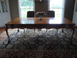 Dining Room Conference Table Cherry w/t claw feet  99X53