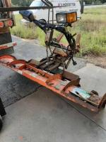 Curtis hitch and run snow plow - serial # 126556