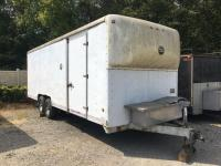 1994 Wells cargo 24ft enclosed trailer - rear and side doors - dual axle *has title*