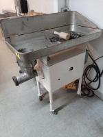 Industrial meat grinder - 3 phase - #32 - grinds 50# in 2 minutes