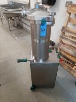 Talsa model h20 40# hydraulic sausage stuffer - 220 1 phase electric - leg operated - works nicely with # 37 - 37 not included
