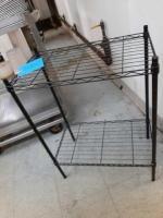 Metal coated shelf - 13 x 30 x 23