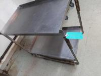 Stainless rolling cart - 21 x 37 x 37