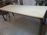 Butcher table - 33 x 37 x 96 - poly top