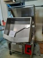 Vulcan 30 gallon tilt kettle - model ve40 - excellent condition - electric and gas - paperwork included