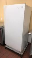 Kenmore upright freezer on stand(stand included); 26