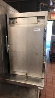 Electric warmer holding cabinet; 24