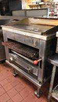 Montague gas grill (top & bottom pieces)