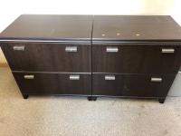 "59"" x 19"" x 30"" wooden file cabinet"