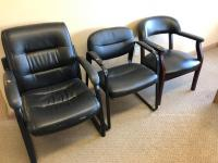 3 Office chairs