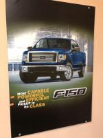 "23"" x 34"" Ford F150 banner"