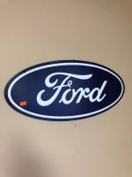 Metal Ford oval sign