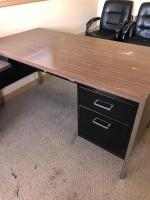 "Office corner desk 60"" x 30"", 42"" x 18"" sections"