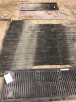 Rubber bed mat, tailgate covers