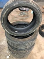 4 Michelin tires 245/45R20 size