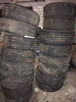 16 assorted tires