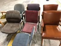 8 total office chairs