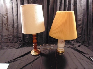 (2) Lamps With Lamp Shades