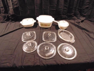 Corning Cook Ware With Lids