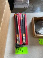 (10) New Blu-Mol 12in Black Oxide Drill Bits