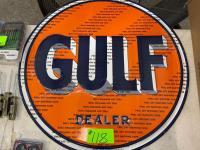 New Gulf Dealer Sign