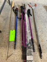 Lot - Collapsible Walking Sticks