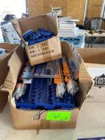 (2) Boxes - Socket Holder Trays