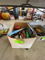 Box - Paint Brushes, Trim Guard, Driver Bits, etc