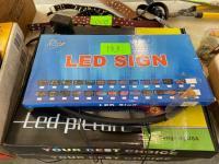 (3) LED No Smoking Signs