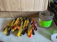 Lot- New Cutter Bits, Retractable Box Blades, Reflectors