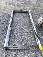 Metal Door Frame - 7ft Tall