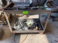 Rolling Metal Warehouse Cart