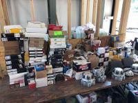 Large Lot - Filters, Automotive Supplies, Wheel Caps