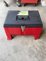 Stack-on Step and Tool Box Combo with Assorted Tools and Bits