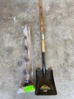 New Shovel and Sledge Hammer