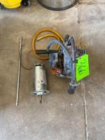 Lot - Pro Force Tanaka Gas Drill and a Electric Motor